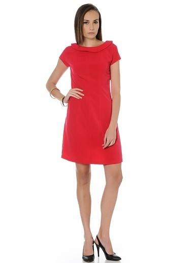 Limon Company Sırt Dekolteli Kısa Elbise Kırmızı